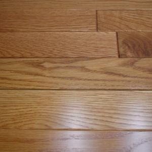 Woodale Carmel Oak 3 4 In Thick X 2 1 4 In Wide X Random