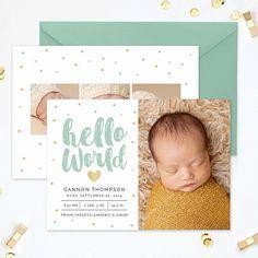 Geburt Ankundigung Vorlage Geburt Ankundigung Vorlage Junge Etsy Birth Announcement Template Birth Announcement Card Baby Announcement Cards