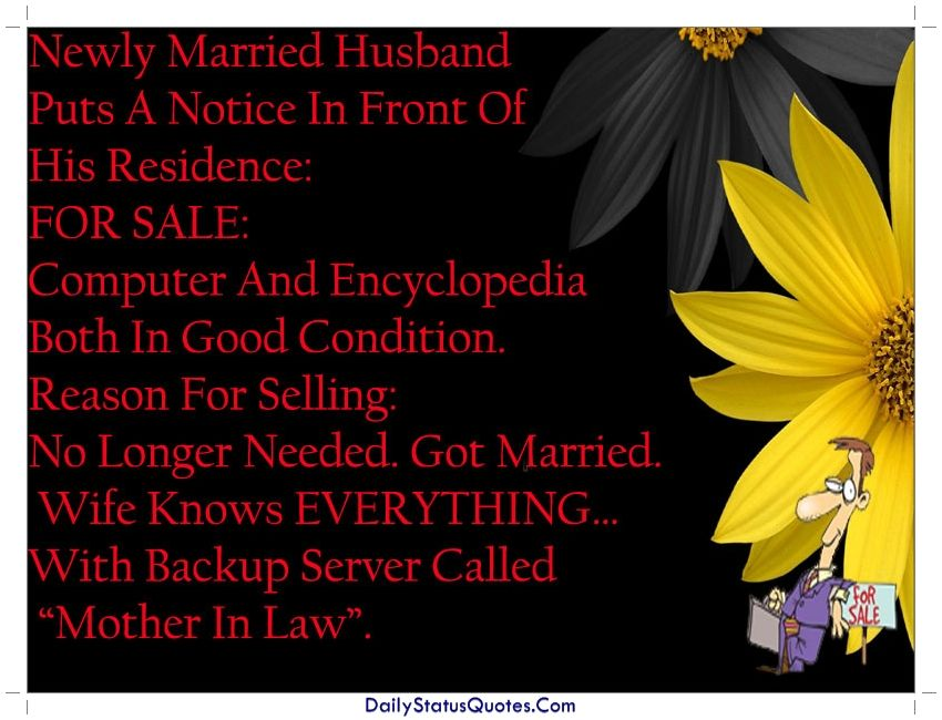 Married Husband Quotes For Whatsapp Daily Status Quotes