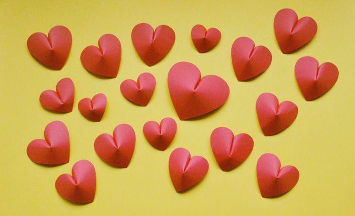 3D PAPER HEARTS ©Gucki