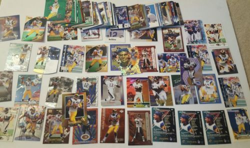 TONY BANKS OVER 100 CARD LOT GREAT VERITY INSERTS RAMS   Michigan St. Spartans