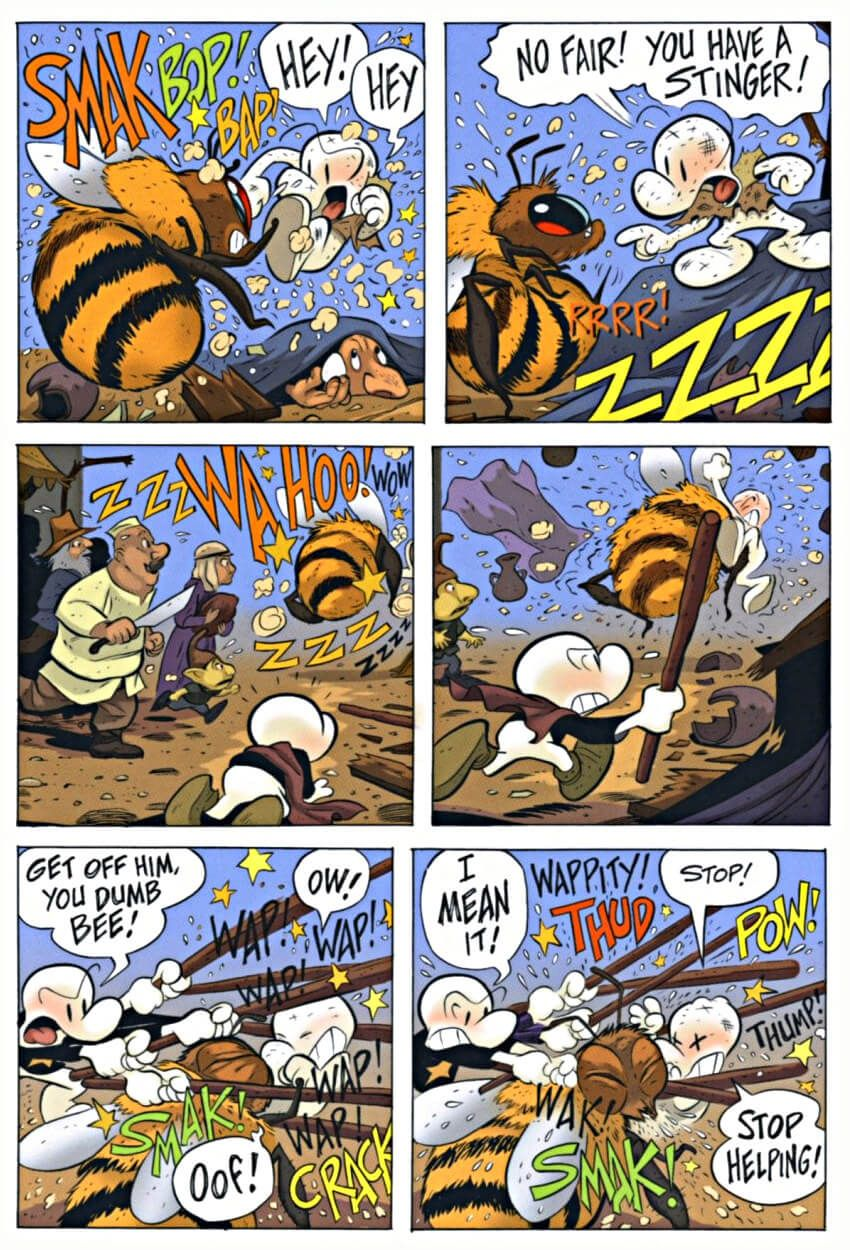 Page 65 Read Online Bone 8 Treasure Hunters Graphic Novel By Jeff Smith Bone Books Graphic Novel Bone Comic