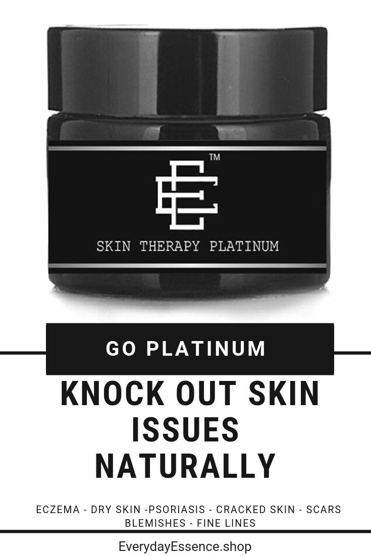 It S Time To Go Platinum With Our Newest Addition To The Skin Therapy Line Skin Therapy Platinum Is A Shilajit Cream That Also Co All About Beauty Eczema Treatment Psoriasis