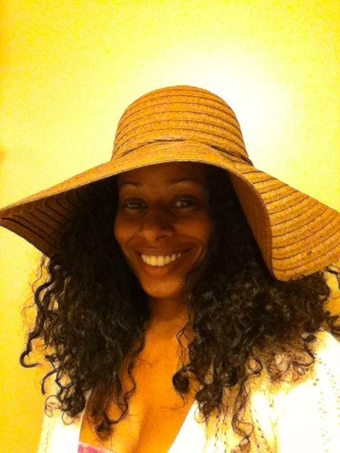 curly hair sun hat - Google Search  1e7084585d9