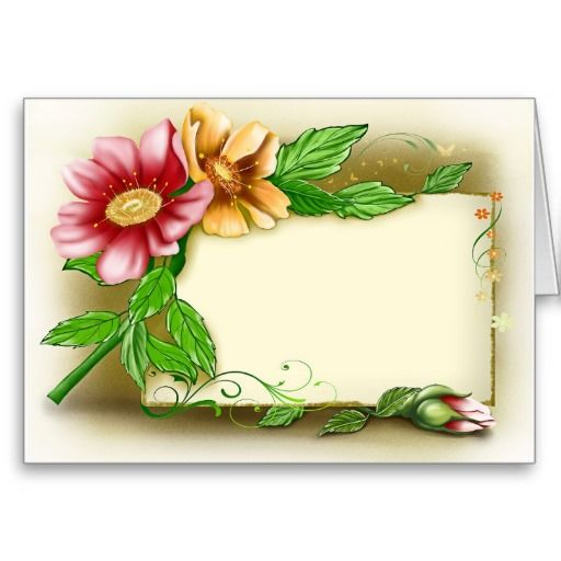 Flowers Name Tag | Zazzle.com | Name wallpaper, Flower ...