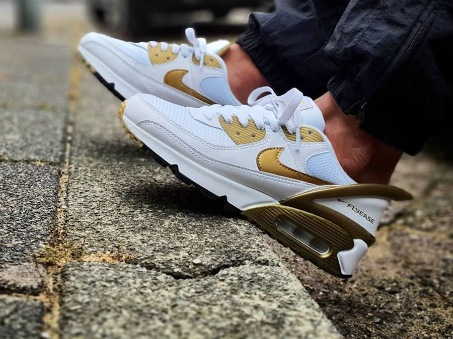 air max flyease blanche