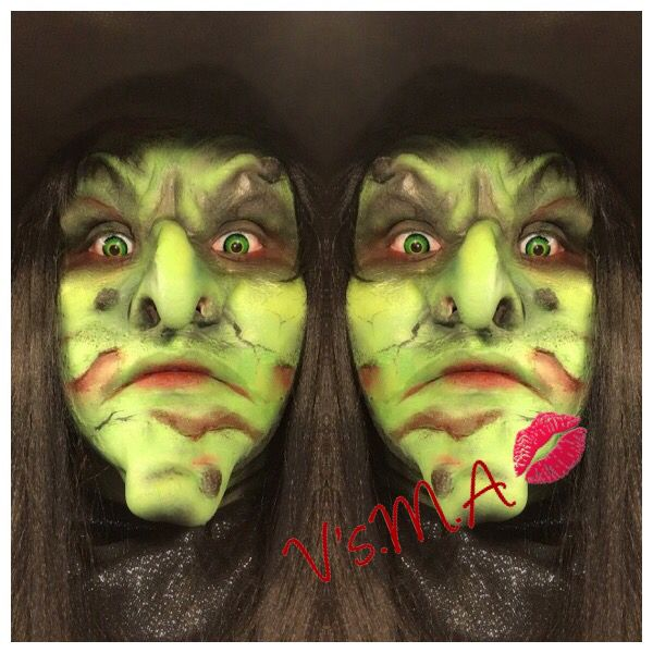 Green witch !!