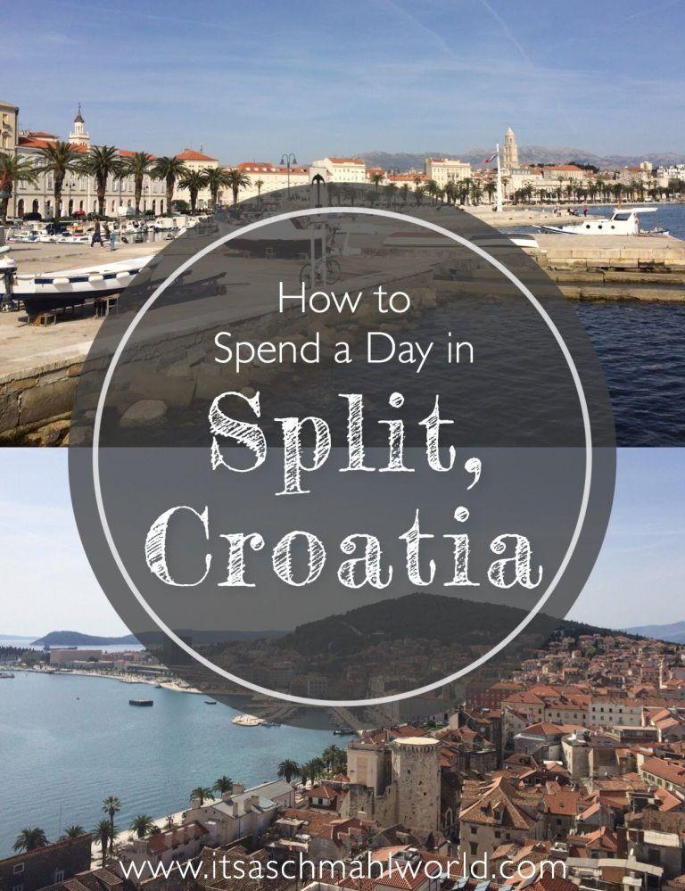 A Day In Split Croatia In 2020 East Europe Travel Croatia Croatia Travel