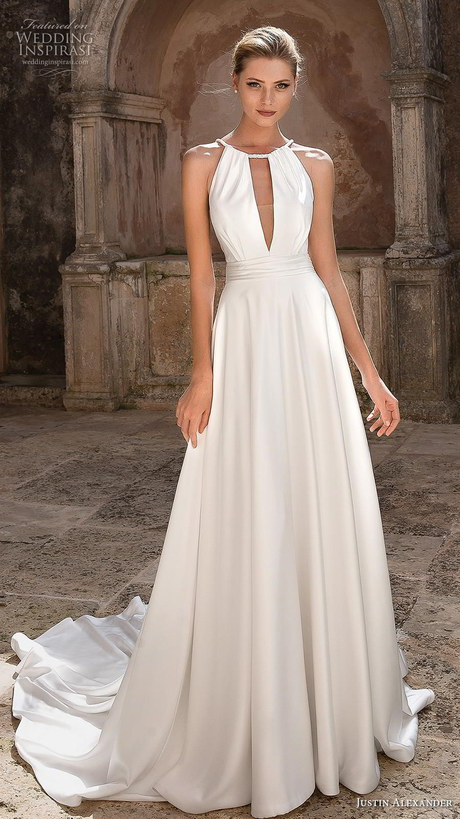 Justin Alexander Spring 2019 Wedding Dresses In 2019