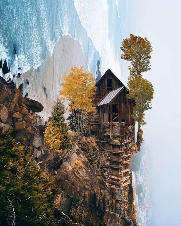 ألوان الوطن بالصور فنان تركي يجمع بين الخيال والطبيعة في صور فوتوغرافية In 2020 Surreal Art Art Photo Art