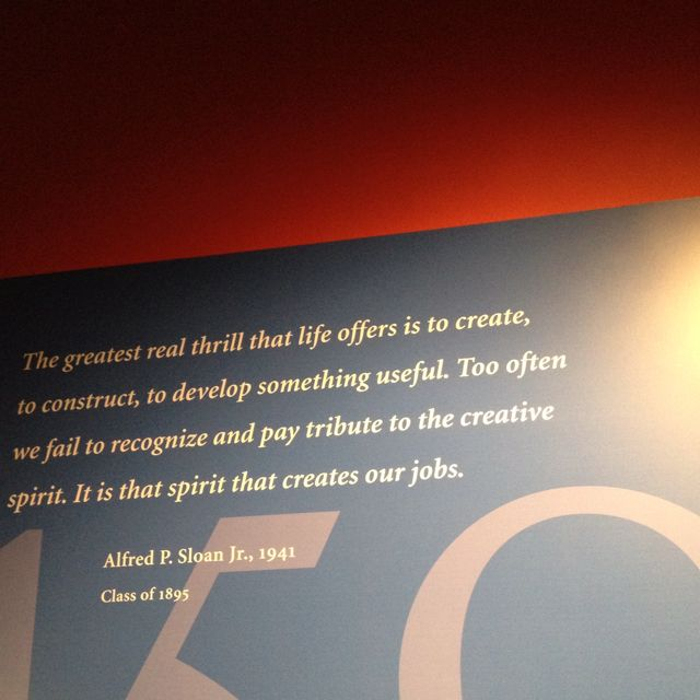 From MIT Museum in Cambridge. Best regards.