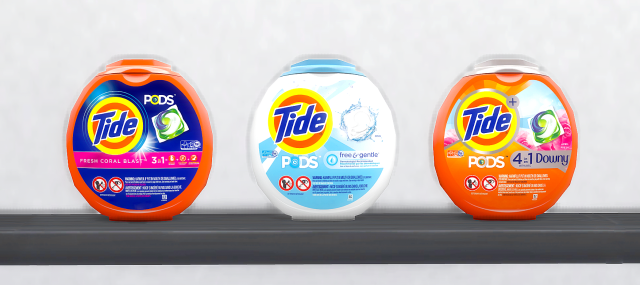 Coatisims Tide Laundry Detergent Pods Sims 4 Clutter Sims 4 Kitchen The Sims 4 Packs