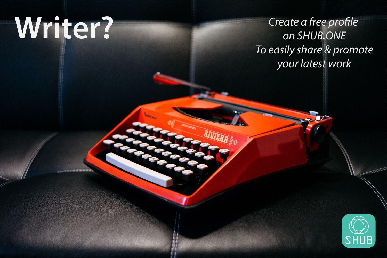 Writer? Create a free profile on Shub.one Social media