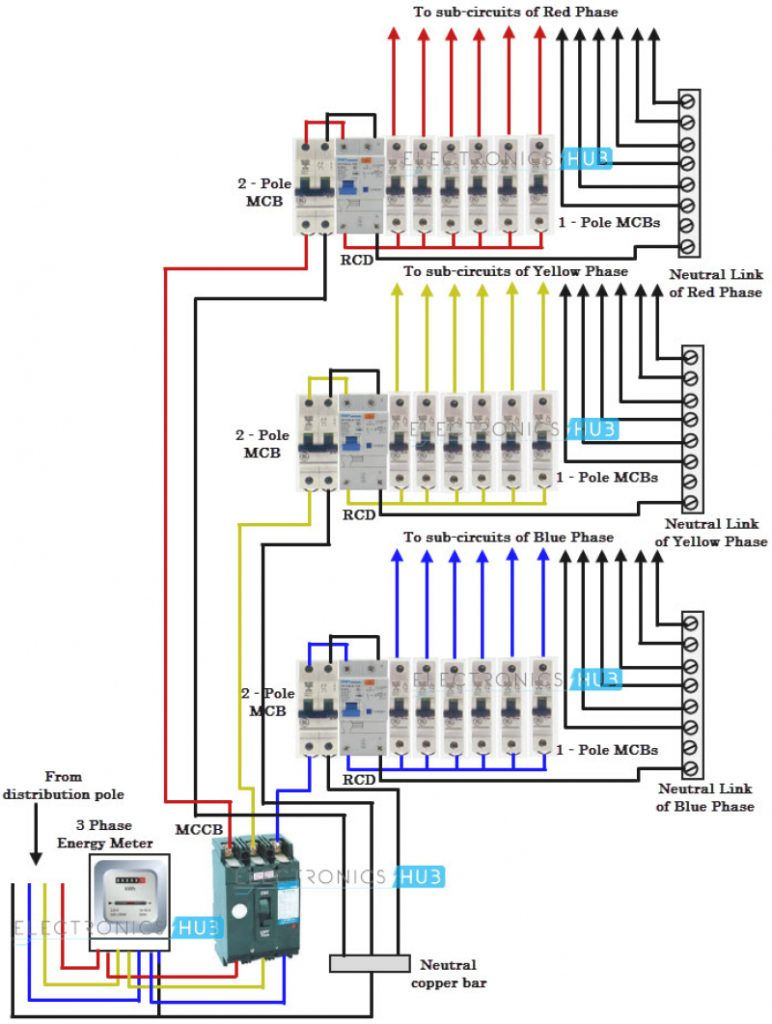 medium resolution of 3 pole schematic wiring wiring diagram used 3 phase wiring schematic 3 phase schematic wiring