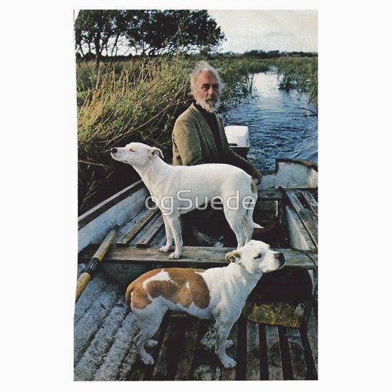 Beard Man Dogs Boat