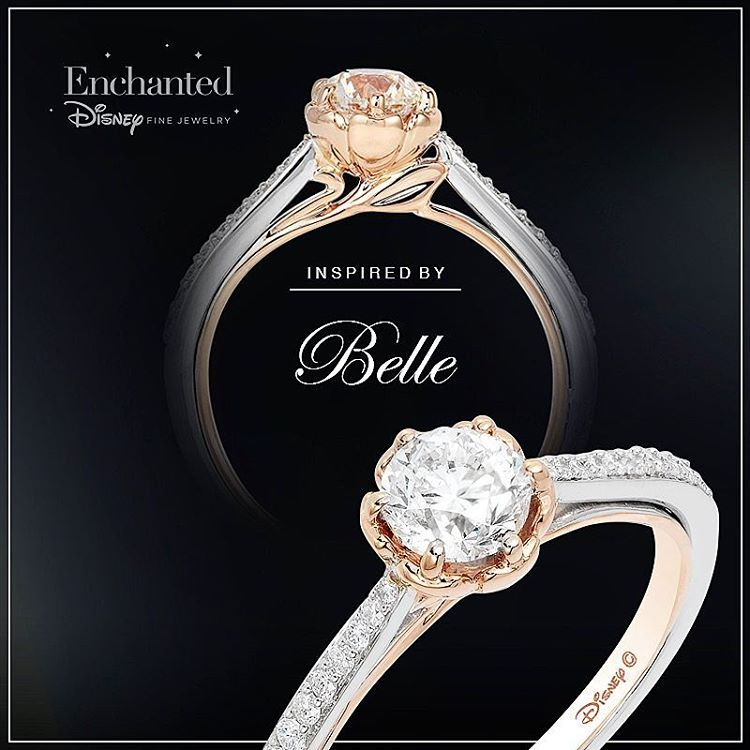 Discover Our Enchanted Disney Fine Jewelry Collections Inspired By Belle Wedding Ring