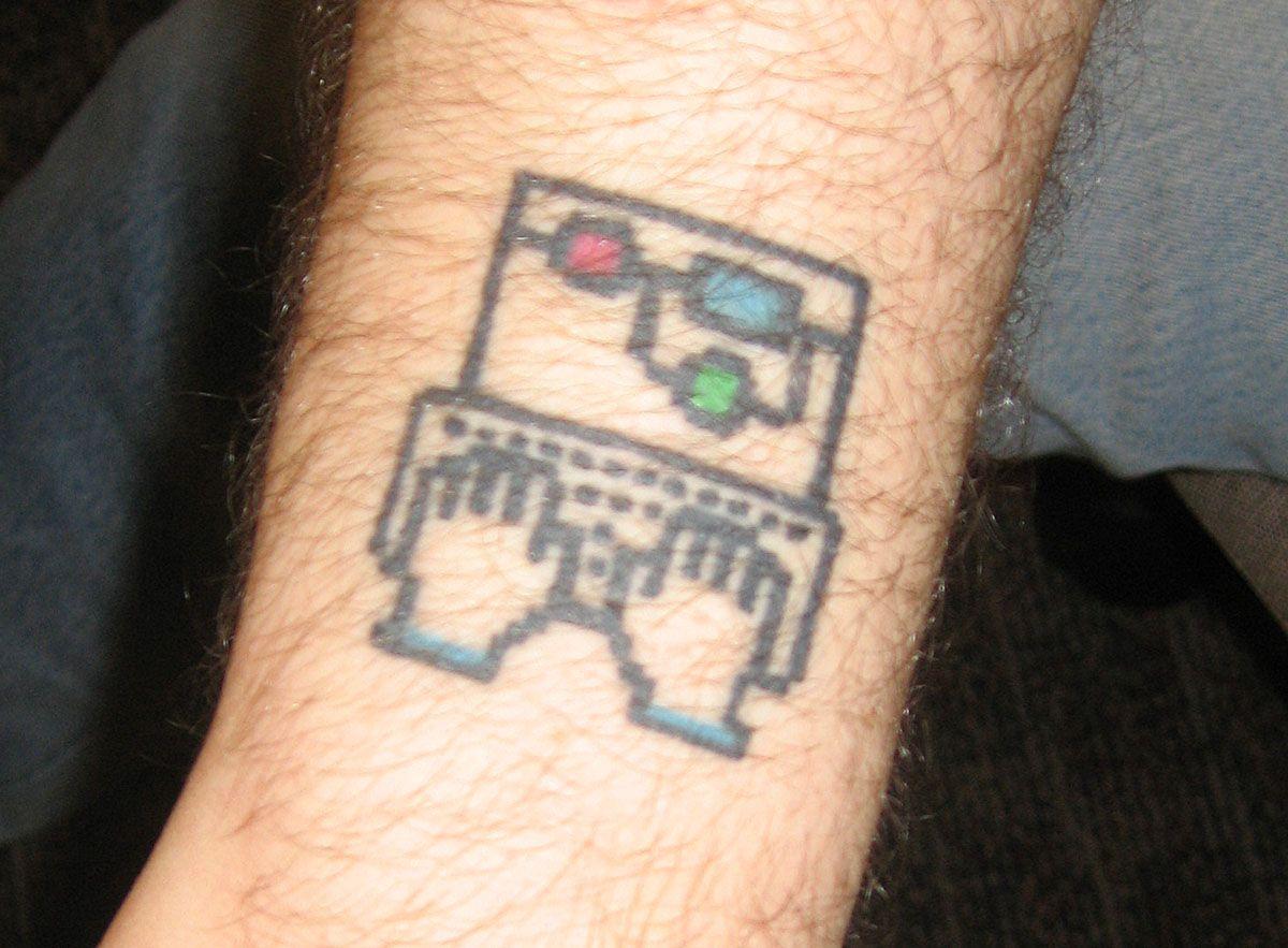 Sw Developer S Tattoo R Mechanicalkeyboards Geek Tattoo Computer Tattoo Tattoos