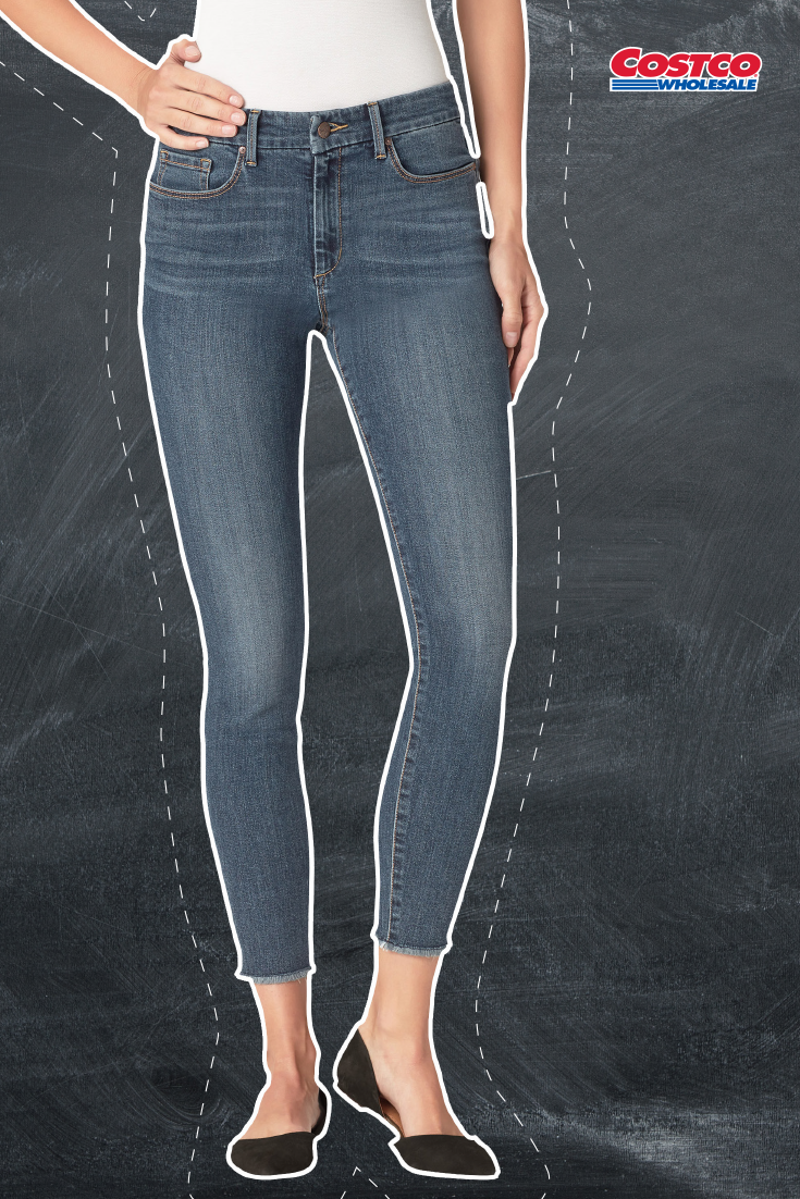 Jessica Simpson Ladies High Rise Skinny Jean Comfort Waist Jeans Pants For Women High Rise Skinny Jeans
