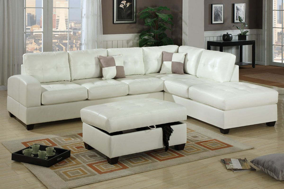 Poundex Sectional Sofa F7359