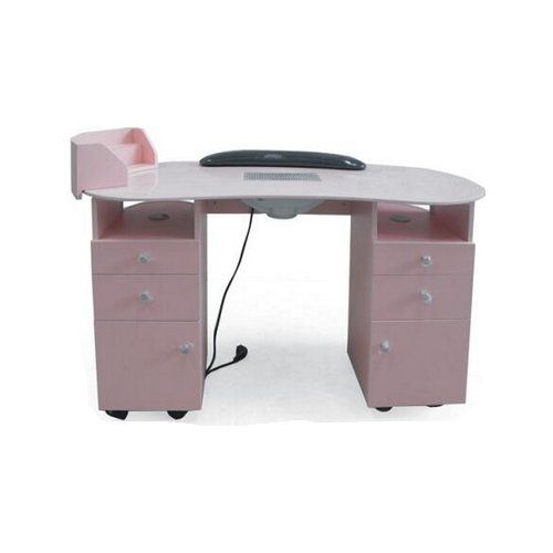 Beauty manicure table salon nail desk spa nail for Nail salon table