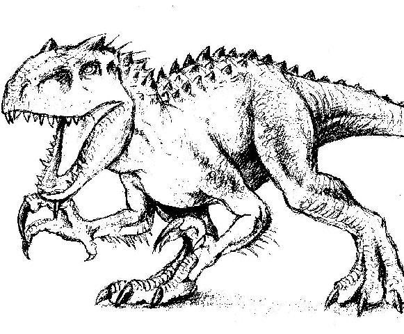 Indominus 2520rex 2520 2520jurassic 2520world 0007 255b3 255d Jpg Coloring Pages Indominus Rex Colorful Pictures