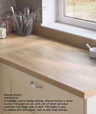 Natural Halifax Oak by EGGER Square Edge Kitchen Laminate Worktops 4.1m 38mm