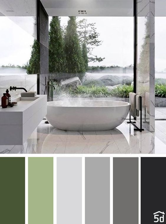 Bathroom Color Palette Interior Design Palette Grey Bathroom Interer Dizaj Bathroom Color Palette Bathroom Color Schemes Color Palette Interior Design