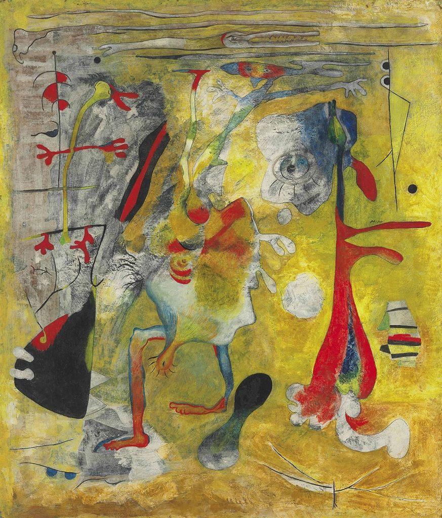 Painting Joan Miro Peinture