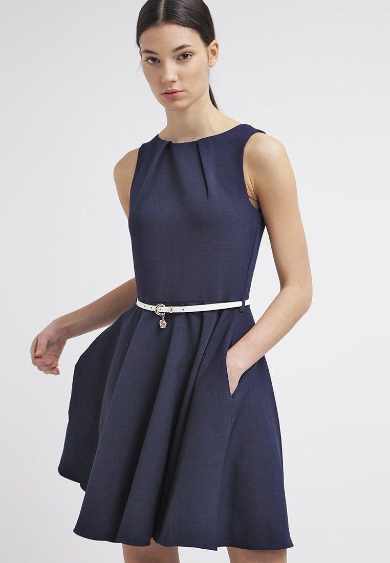Vestido cóctel azulino con correa | ropa reu | Pinterest | Vestiditos