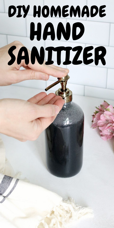 DIY Homemade Hand Sanitizer Formula from WHO Hand