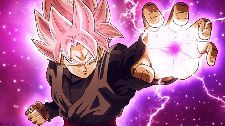 Goku Black Super Saiyan Rose Dragon Ball Super Wallpaper Dragon Ball Wallpapers Goku Black Super Saiyan Anime Dragon Ball Super