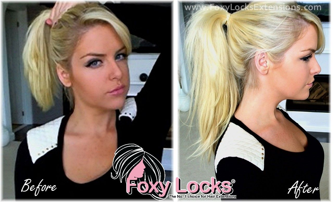 How To Put Your Hair Up Ponytail Using Clip In Hair Extensions