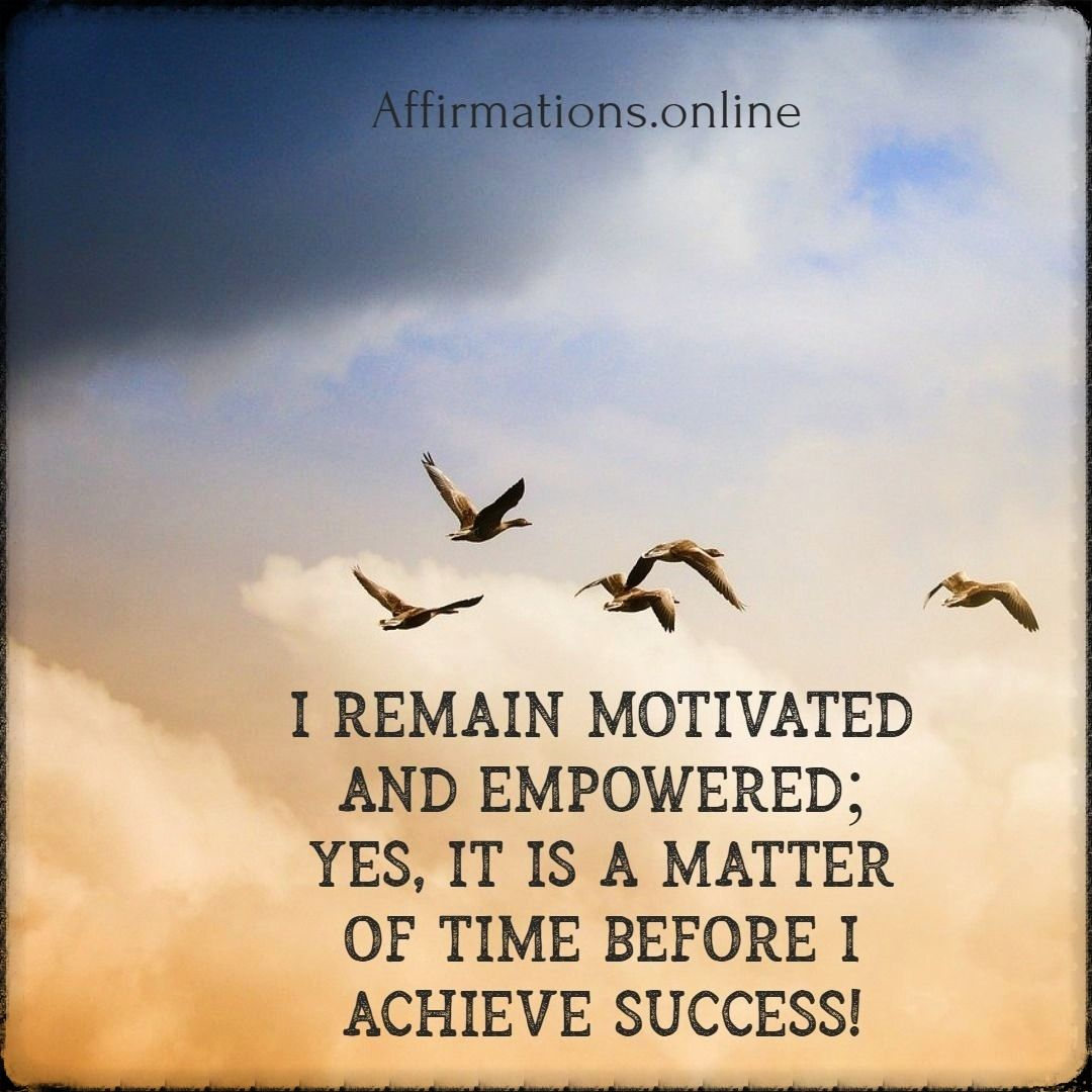 Daily Motivation Affirmation For 05 06 In