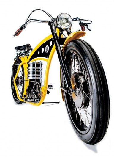 Each B4 Bikes e-cruizer is hand-built in the Netherlands