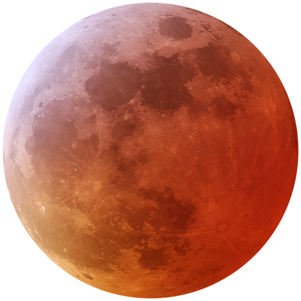 Red Moon Png Clip Art Image Red Moon Art Images Clip Art
