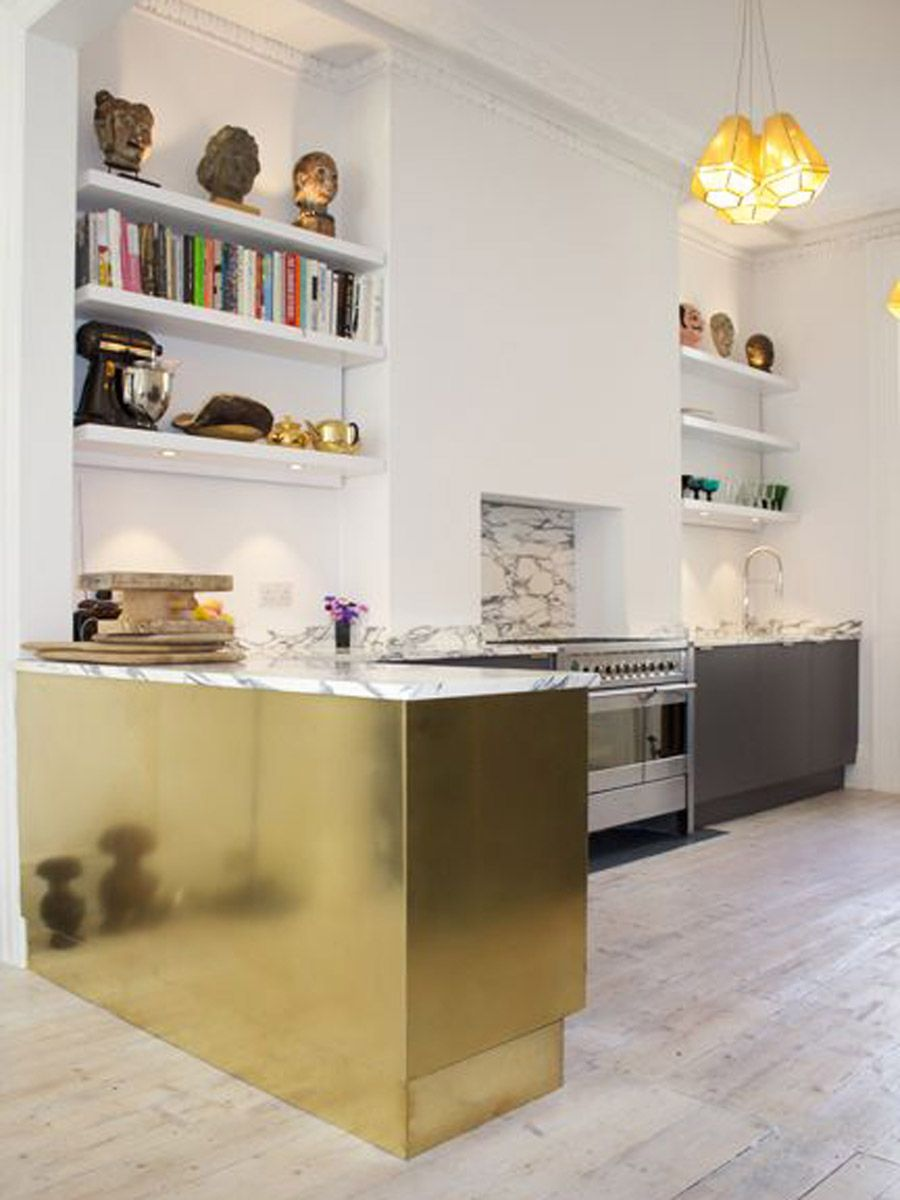 Metallic Inspiration For Our Kitchen Refurb Kitchen Design Plans Elegant Kitchen Design Kitchen Design