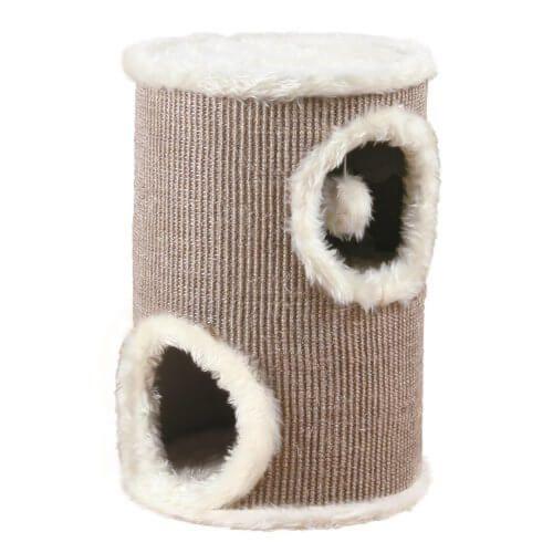 Trixie 4331 Cat Tower, ø 33 Cm/50 Cm, Braun/beige