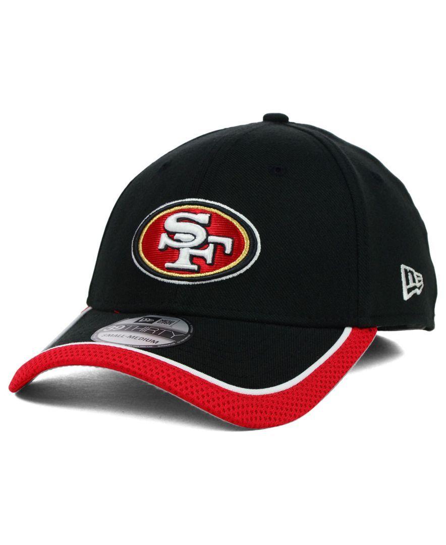 timeless design 88820 48550 New Era San Francisco 49ers On Field 39THIRTY Cap