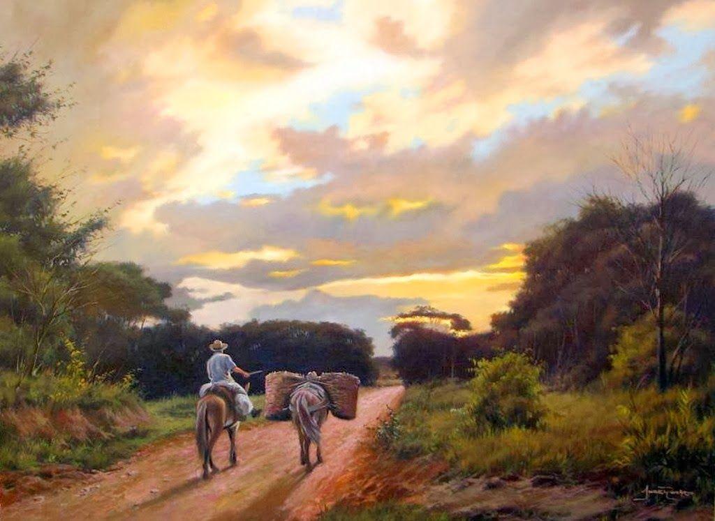Pinturas Realistas De Alonzo Morales Pintor De Maracaibo Venezuela ...