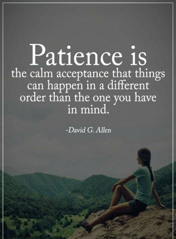 Motivational Quotes on patience