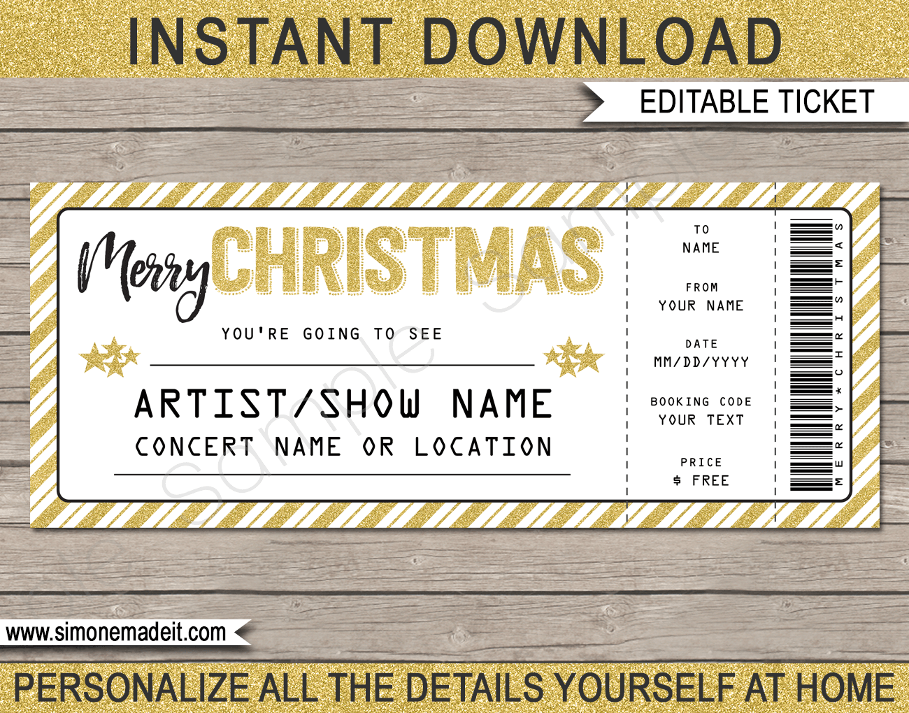 This is a graphic of Old Fashioned Concert Ticket Template Free Printable