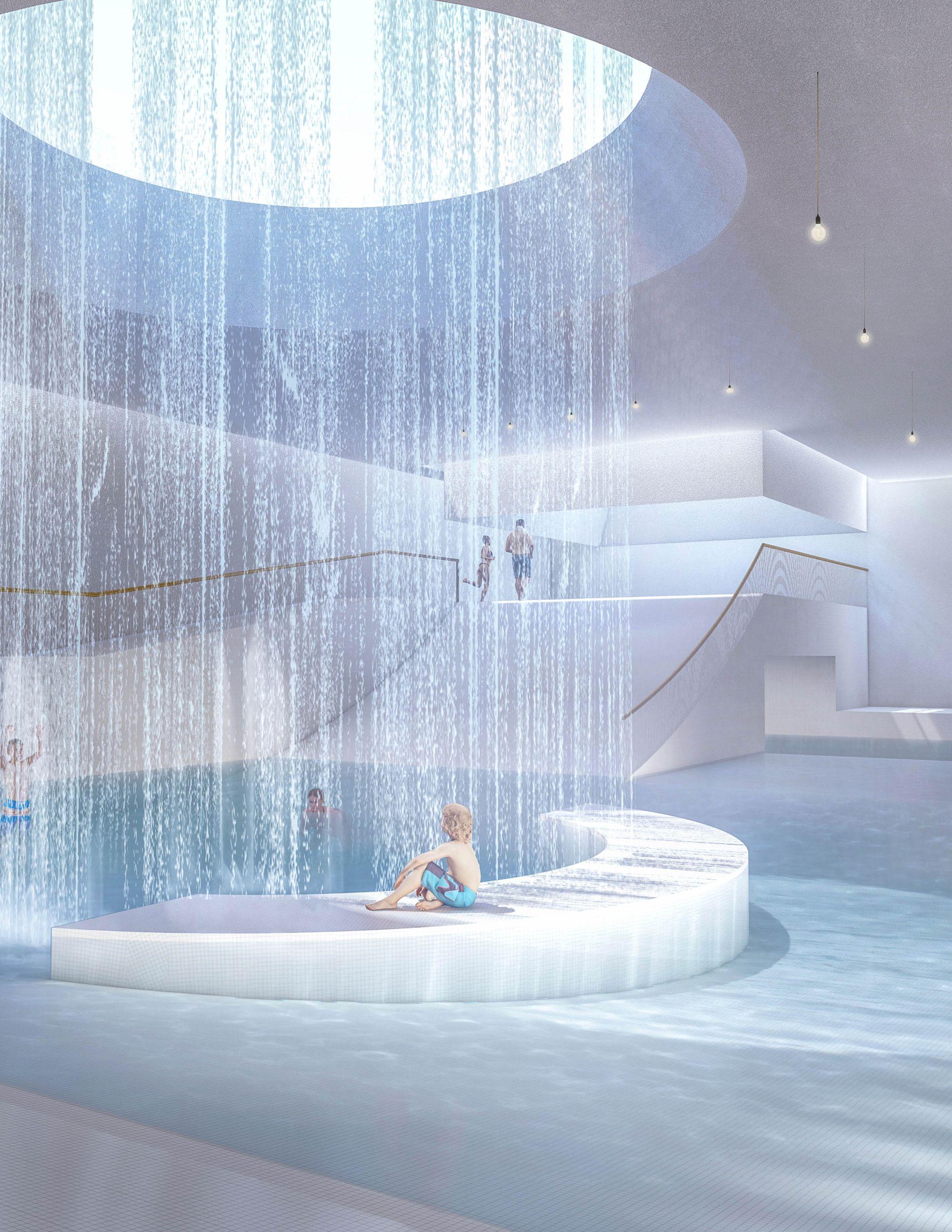 Chunhuiyuan Spa Resort Water Architecture Design Architecture Jobs Water Architecture