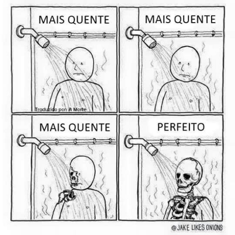 Unico Jeito De Tomar Banho Nesse Frio Memes Engracados Meme Engracado Engracado