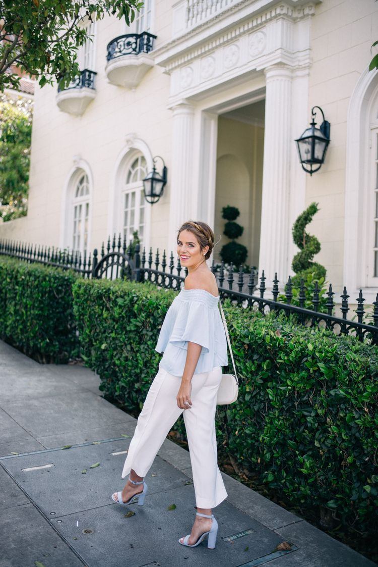 White Summer Trousers
