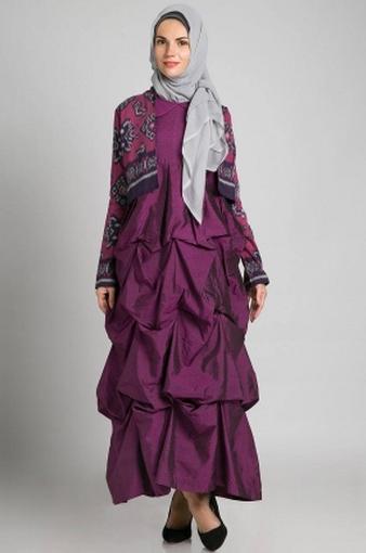 Baju Muslim Remaja Modern Untuk Pesta Di 2020 Baju Muslim Pesta Modern - Pesta Adalah, Model Gamis Batik Pesta Modern Untuk Anda Gunakan