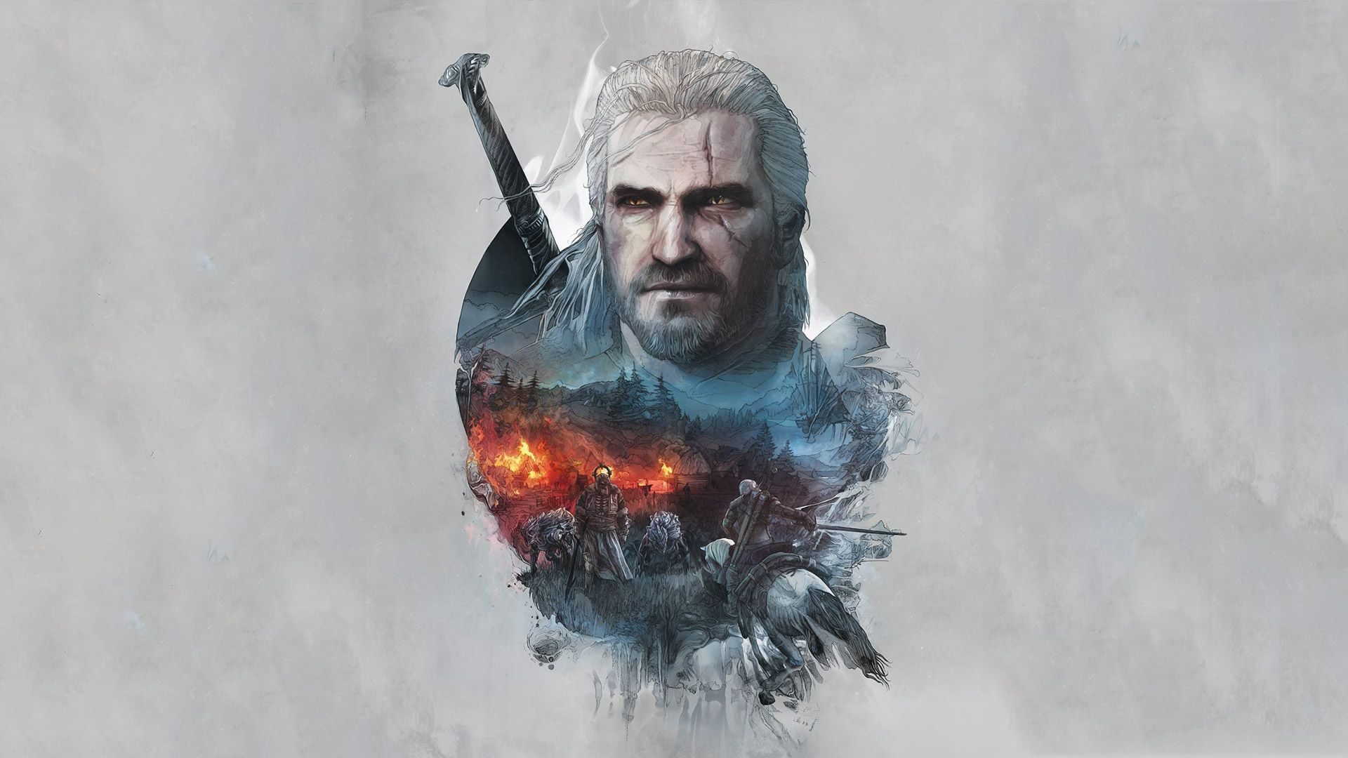 Free The Witcher 3 Wallpaper in 1920x1080 Witcher 3 Wild