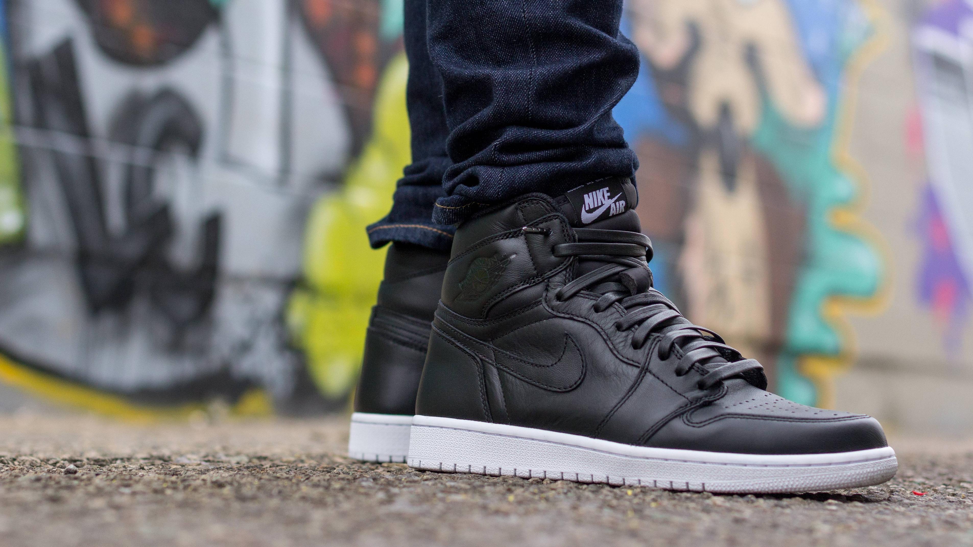 Air Jordan 1 Retro Og Cyber Monday Leather Laces Fashion Shoes Air Jordans Air Jordan Sneaker