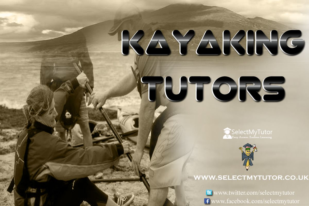 Are you an Kayaking tutor? Register with us today for