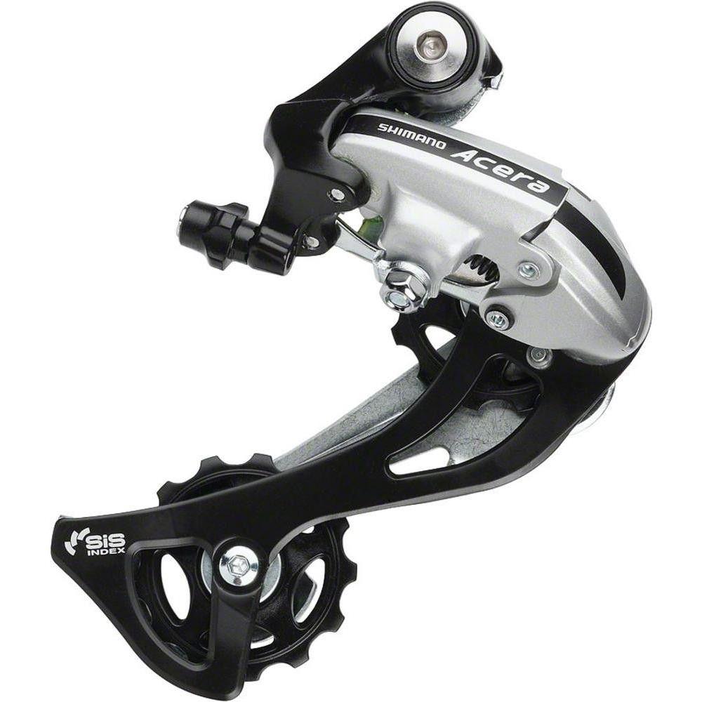Shimano Acera RD-M360 Rear Derailleur 7//8 Speed SGS Black Long Cage Bike