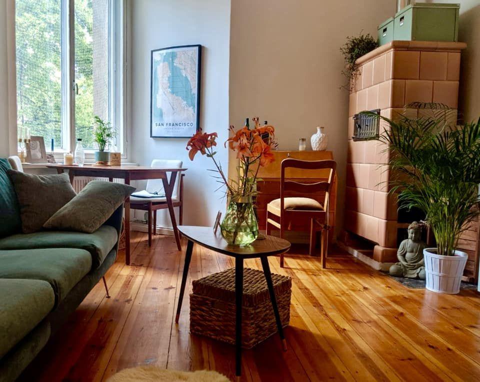 Schoner Dielenboden In Neukollner Wohnzimmer Wohnen Wohnzimmer Haus Deko
